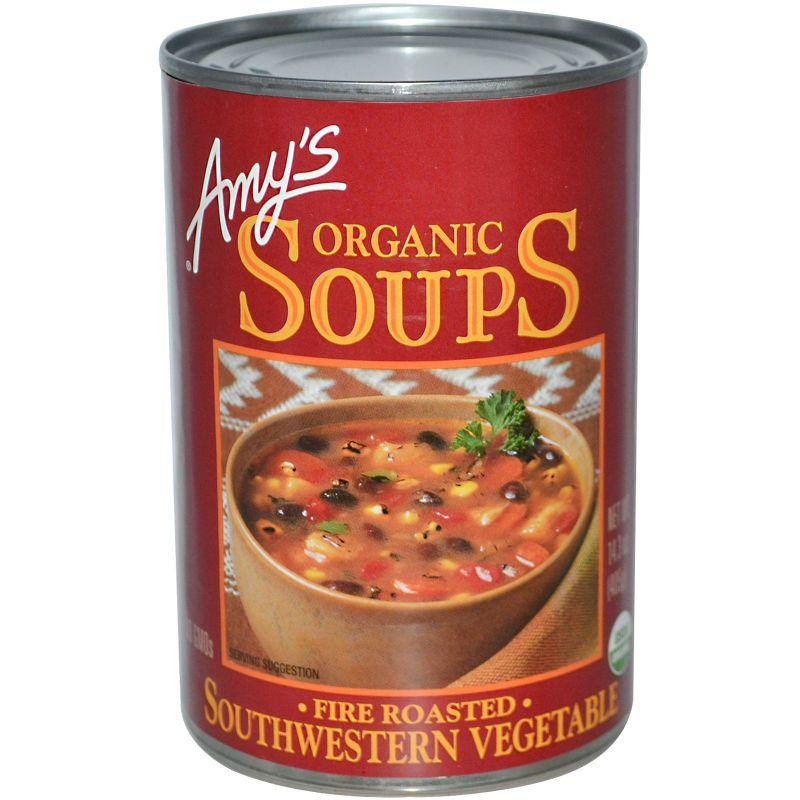Amy's Organic Gluten Free Southwestern Vegetable Soup, 14.3 oz