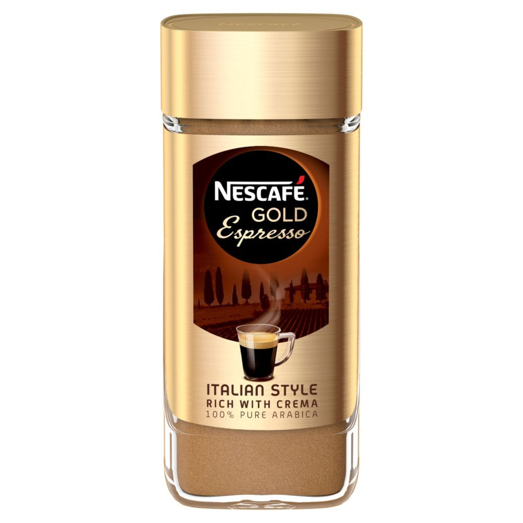 Nescafe, Gold Espresso Instant Coffee, 100 g