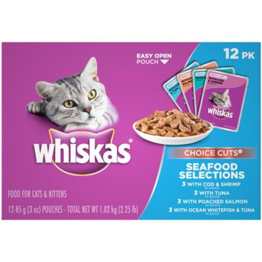 Whiskas Seafood Selections, 12 ct
