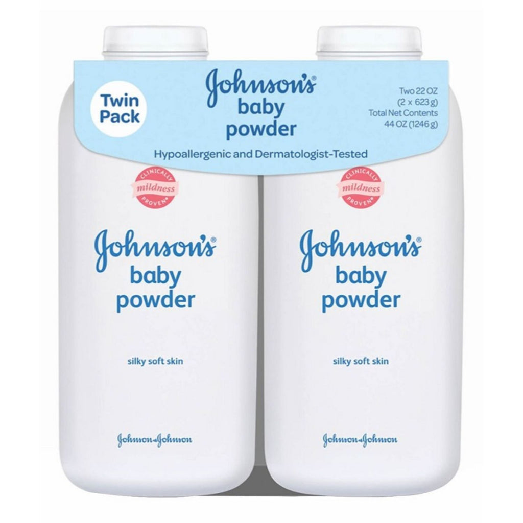 Johnson's, Baby Powder, 2 x 22 oz
