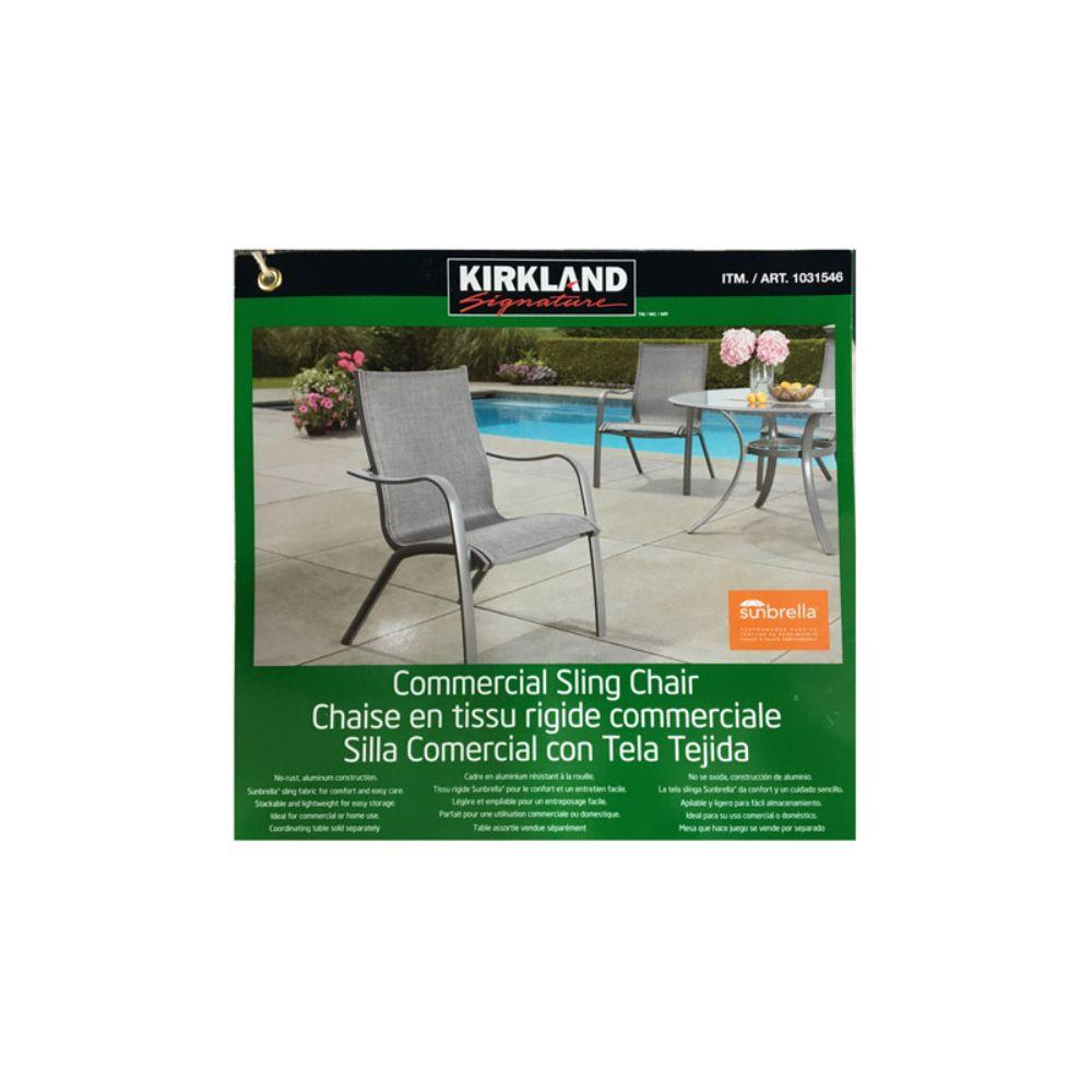 Kirkland Signature, Commercial Sling Chair