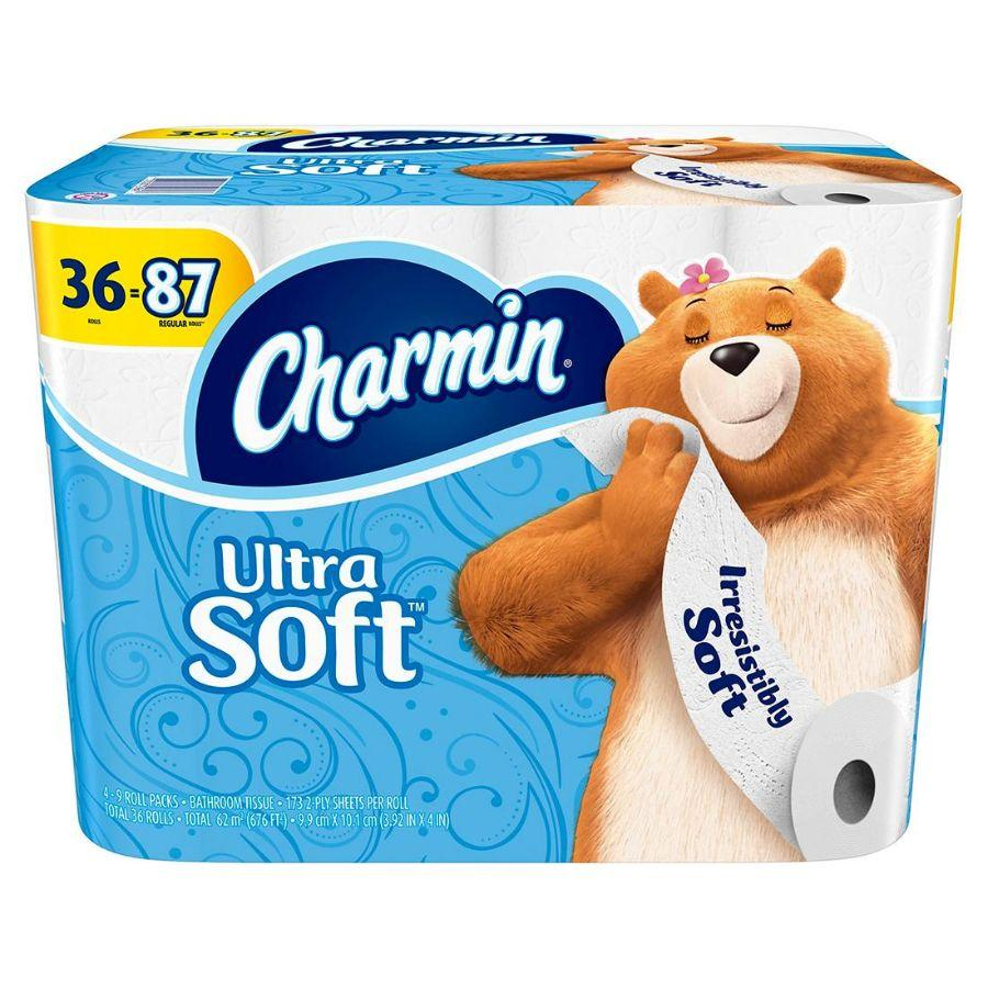Charmin Ultra Soft 2-Ply 173 Toilet Paper, 36 ct