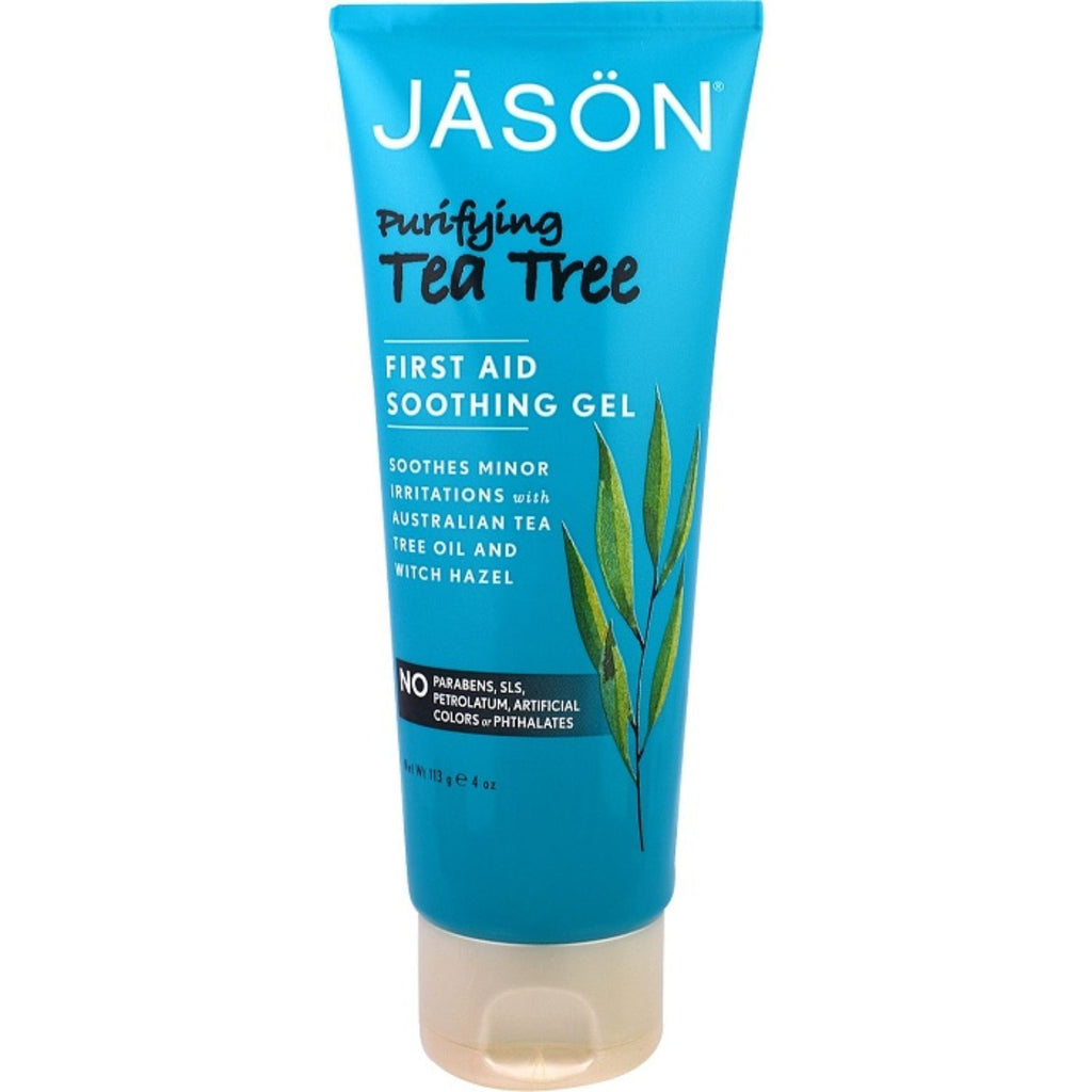 Jason, First Aid Soothing Gel Purifying Tree, 4 oz