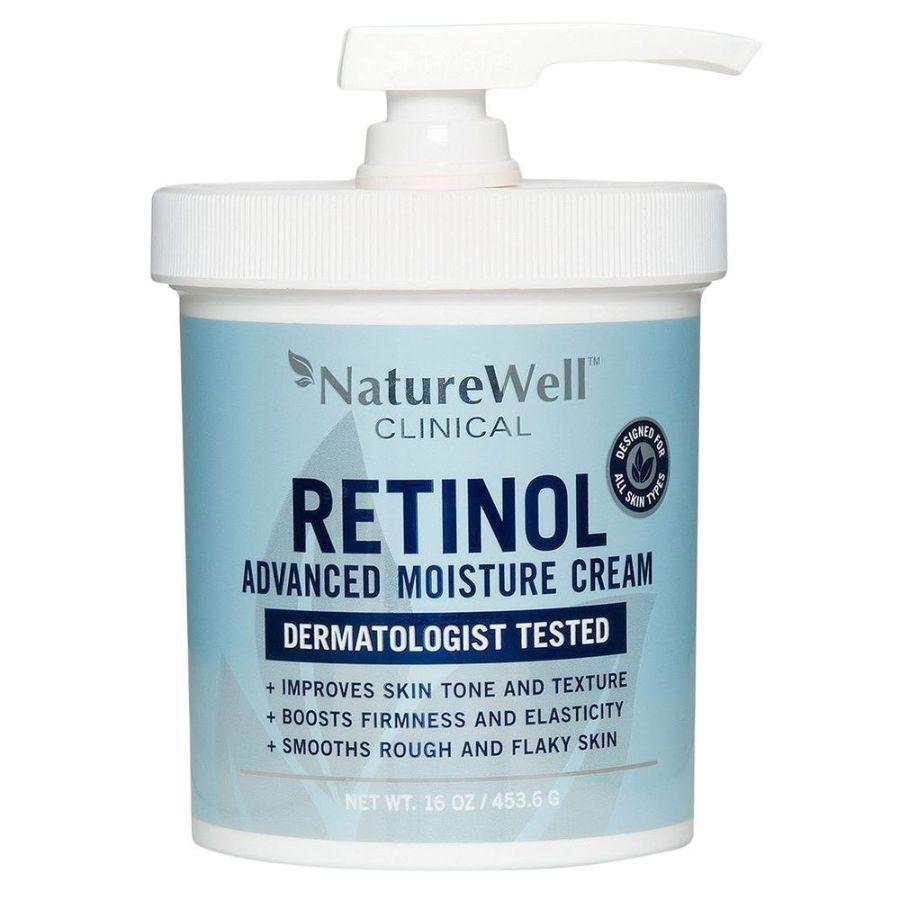 Nature Well Clinical Retinol Advanced Moisture Cream, 16 oz