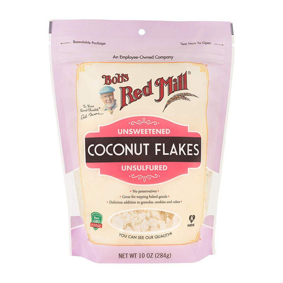 Bob's Red Mill Unsweetened Coconut Flakes, 10 oz