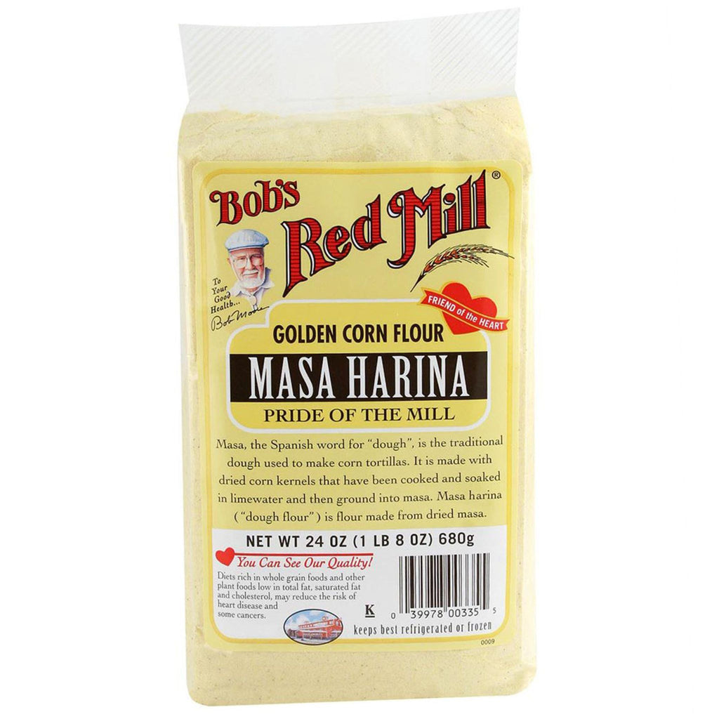 Bob's Red Mill, Corn Flour Masa Harina, 24 oz