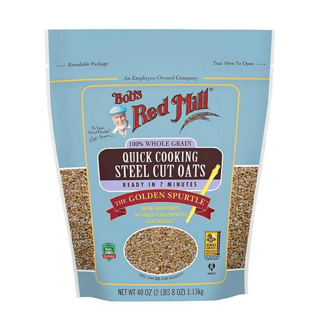 Bob's Red Mill Quick Cooking Steel Cut Oats, 40 oz