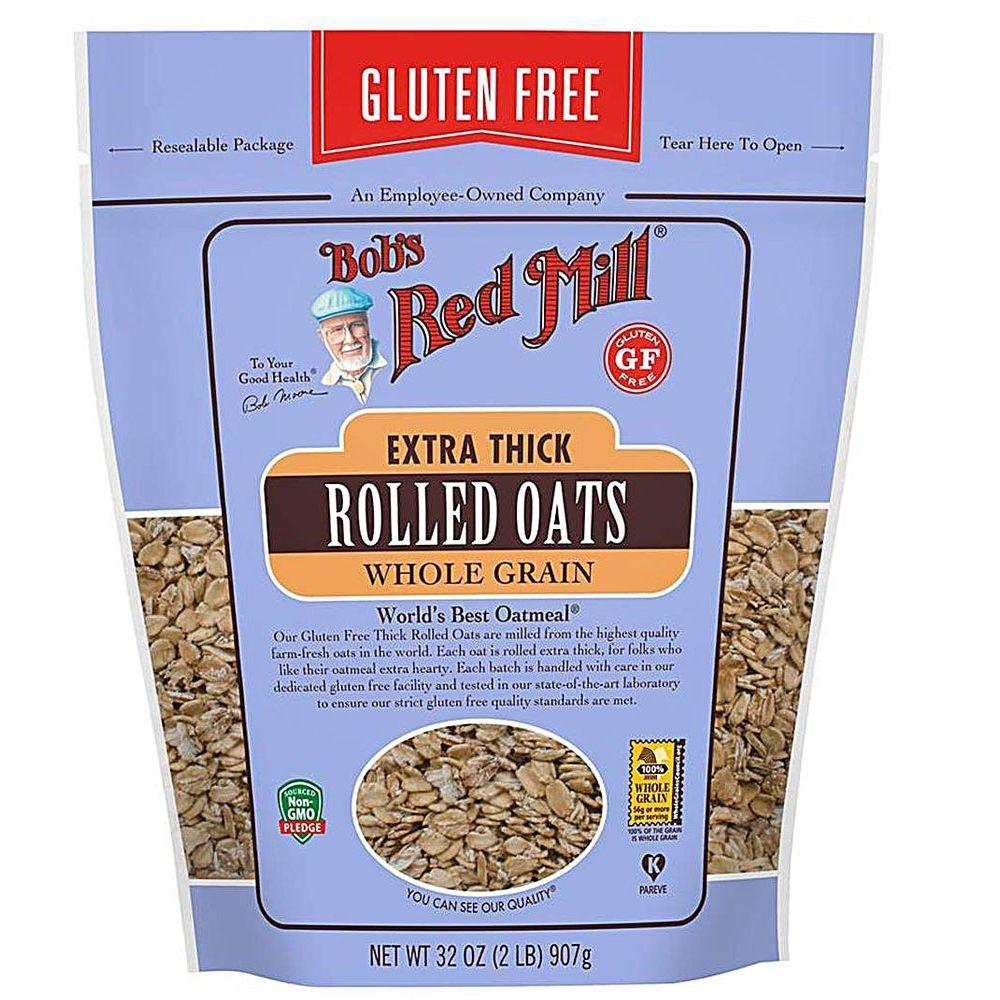 Bob's Red Mill Gluten Free Extra Thick Rolled Oats GF, 32 oz