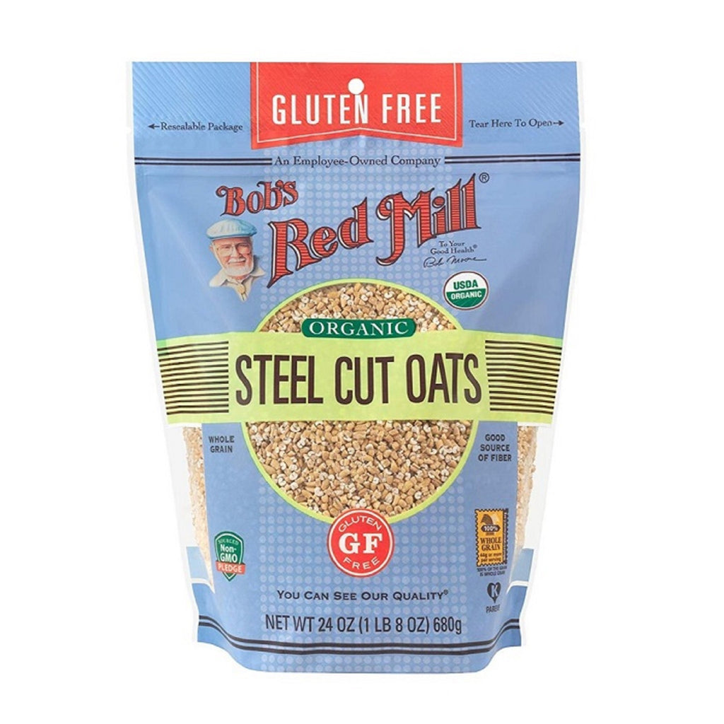Bob's Red Mill Gluten-Free Organic Steel Cut Oats, 24 oz