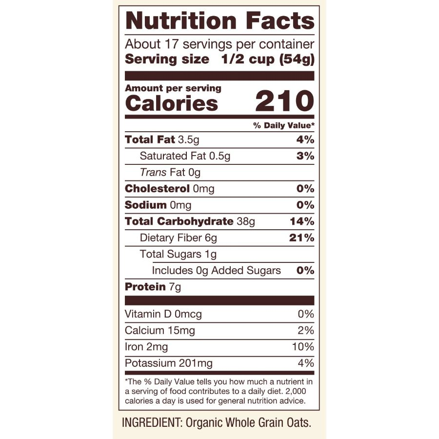 Bob's Red Mill Organic Gluten Free Rolled Oats, 32 oz