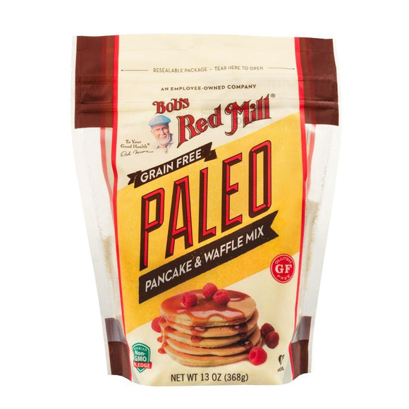 Bob's Red Mill Gluten Free Paleo Pancake and Waffle Mix, 13 oz