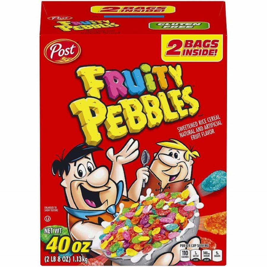 Post Gluten Free Fruity Pebbles, 40 oz