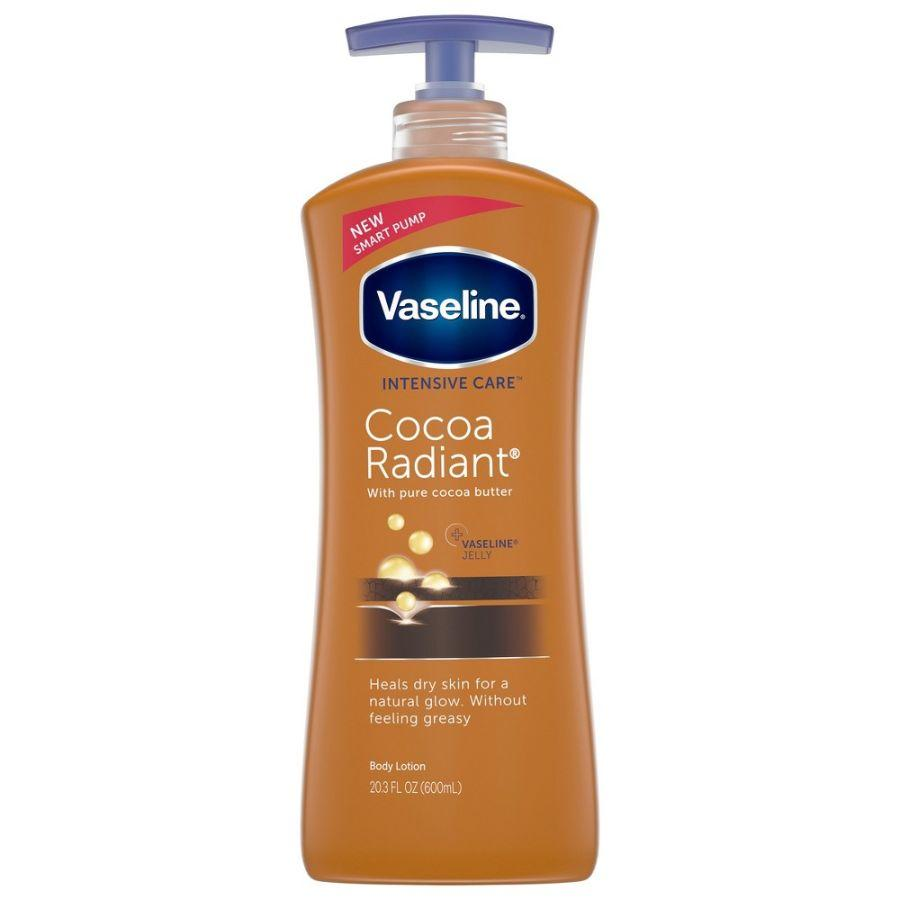 Vaseline Body Lotion Cocoa Radiant, 20.3 oz