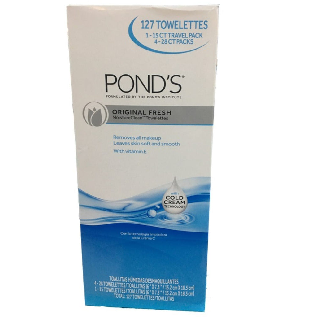 Pond's, Cleansing Towelettes, 4 x 28 ct