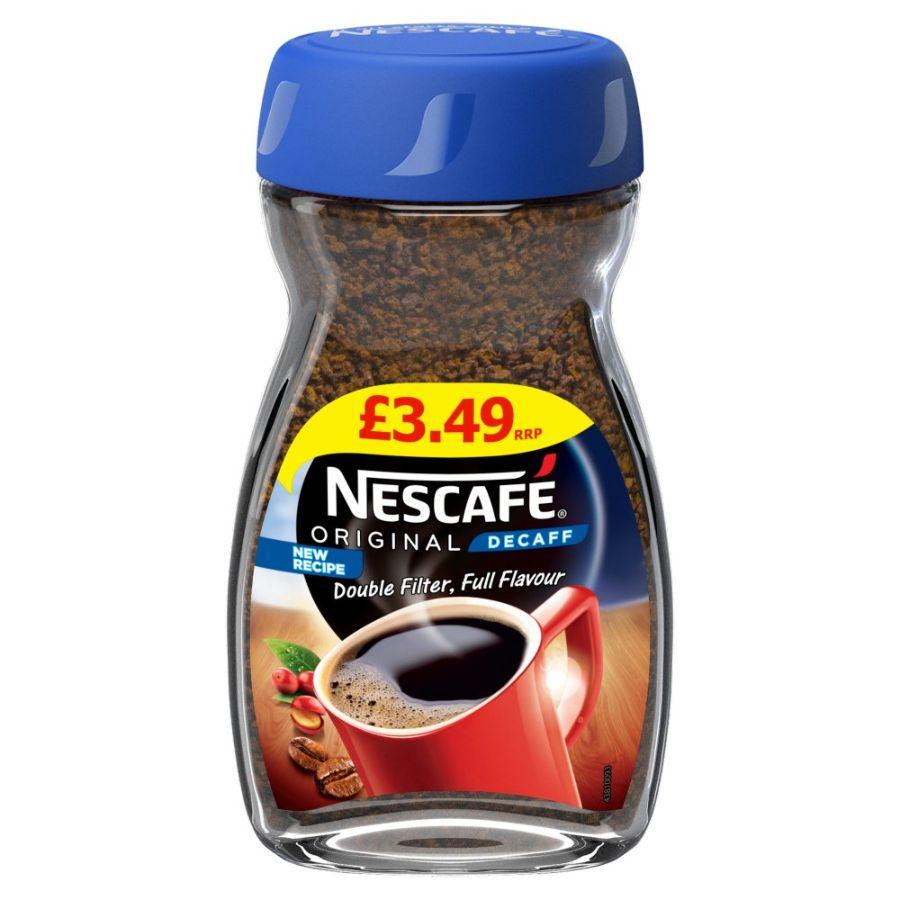 Nescafe Original Decaff Instant Coffee, 100 g
