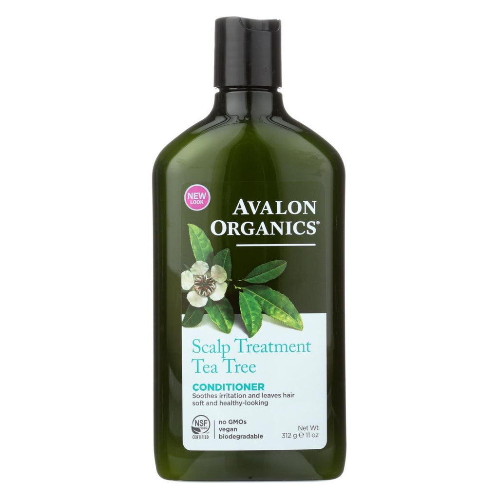Avalon Organics, Scalp Treatment Tea Tree Conditioner, 11 oz
