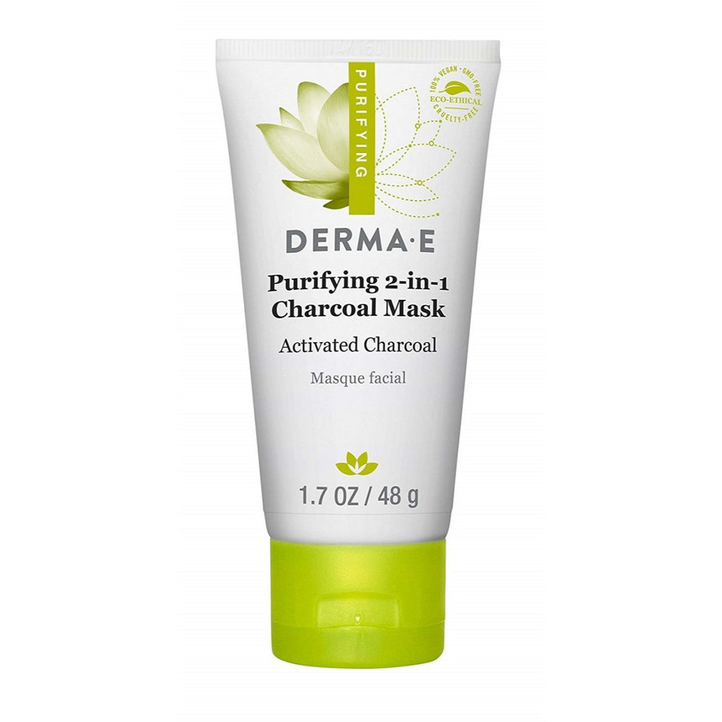 Derma E, Purifying 2-in-1 Charcoal Mask, 1.7 oz