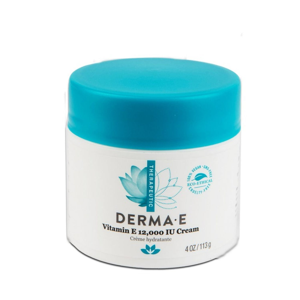 Derma E, Vitamin E 12000 IU Cream, 4 oz