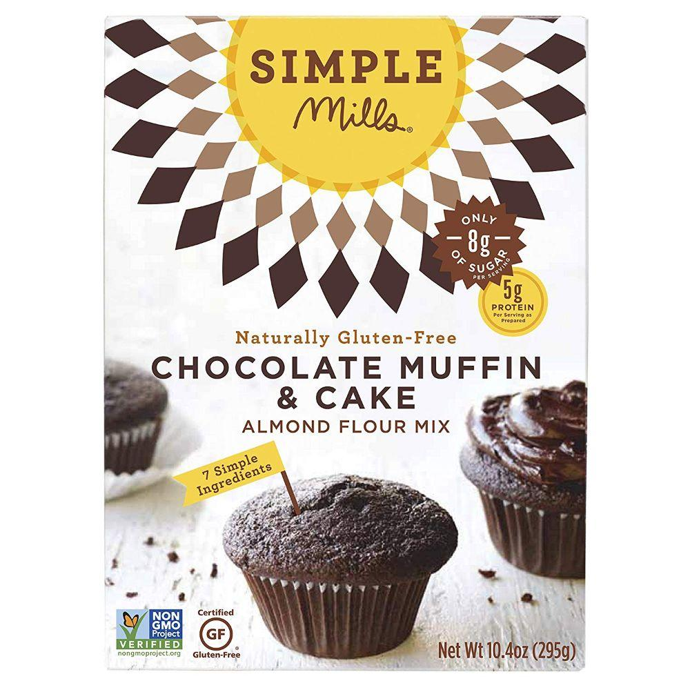 Simple Mills Gluten Free Chocolate Muffin & Cake Almond Flour Mix, 10.4 oz