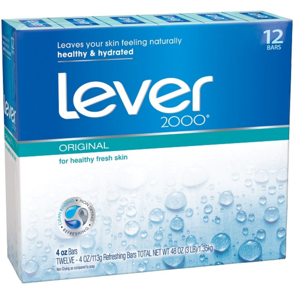 Lever, 2000 Original Soap Bar, 12 ct