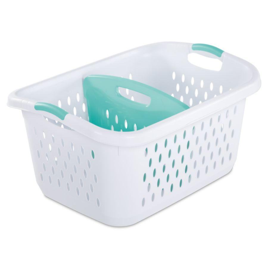 Sterilite Divided Laundry basket White, 2.2 Bu 78L