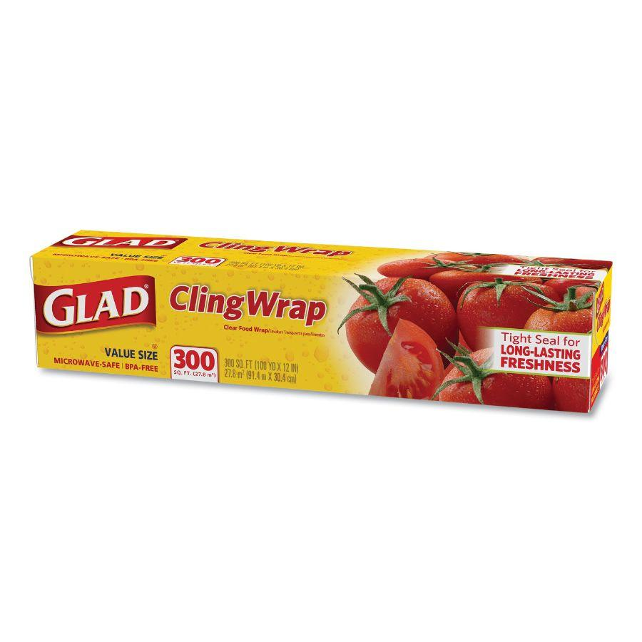 Glad Cling Wrap, 300 ft