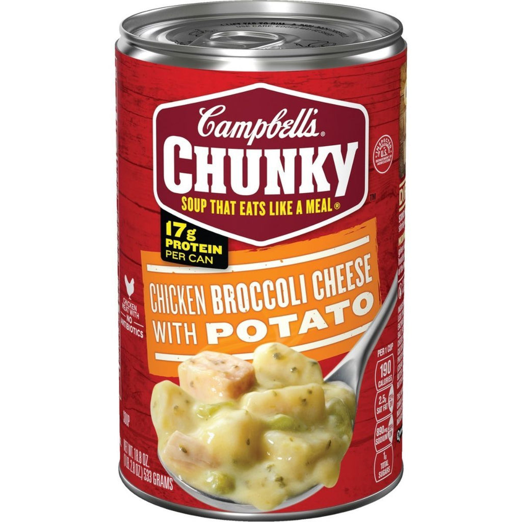 Campbell's, Chicken Broccoli Cheese with Potato, 18.8 oz