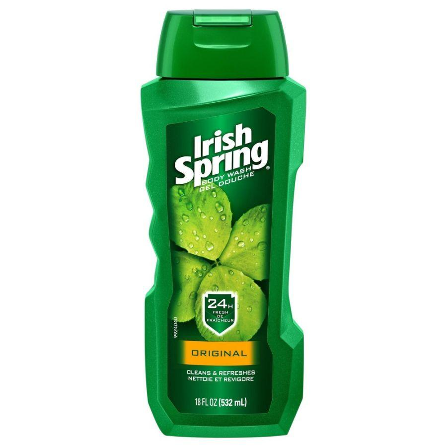 Irish Spring Body Wash Original, 18 oz