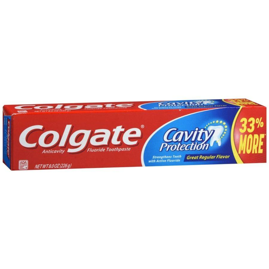 Colgate Cavity Protection Toothpaste, 8 oz
