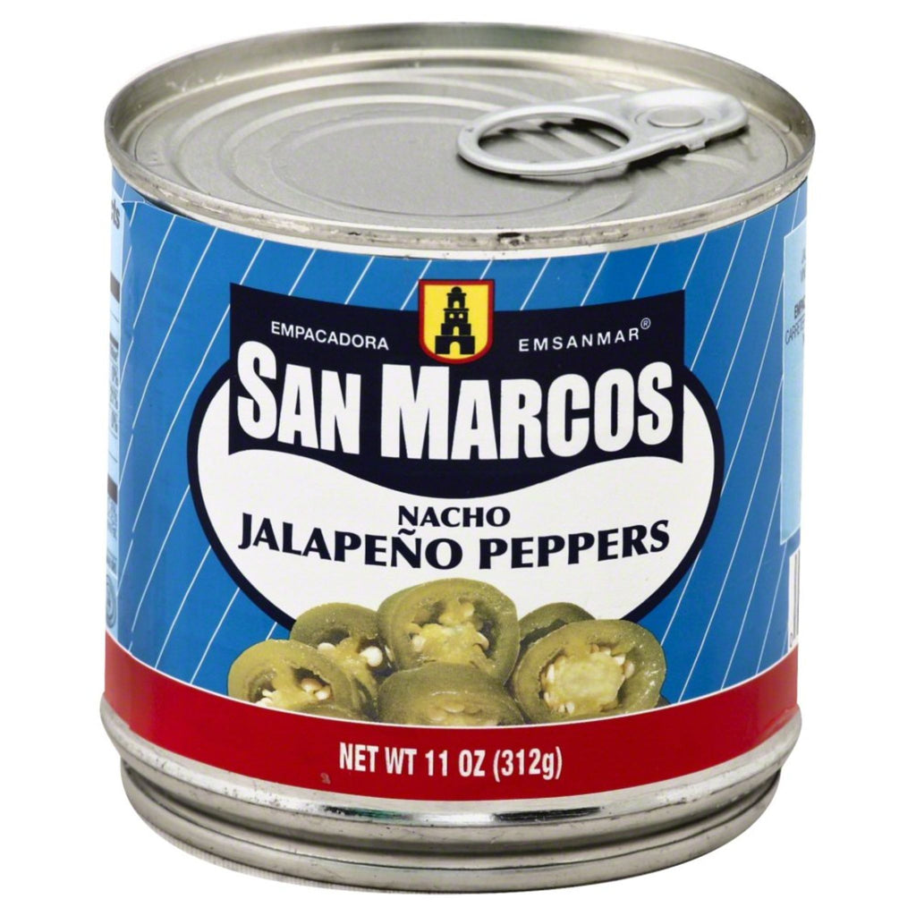 San Marcos, Nacho Jalapenos Peppers, 11 oz