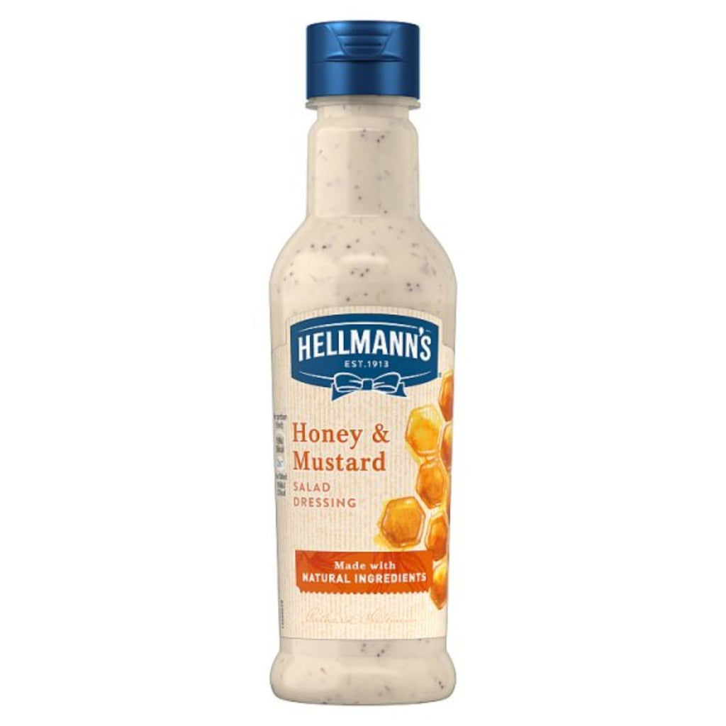 Hellmann's Honey & Mustard Salad Dressing, 210 ml
