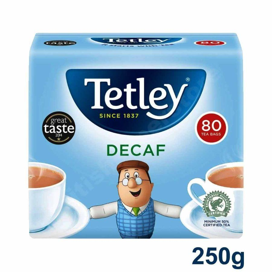 Tetley Decaf Tea Bags, 80 ct