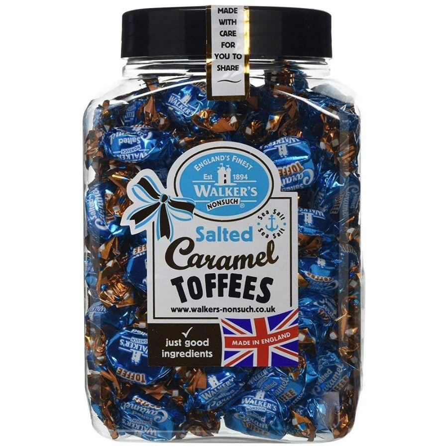 Walkers Salted Caramel Toffees Jar, 1.25 K