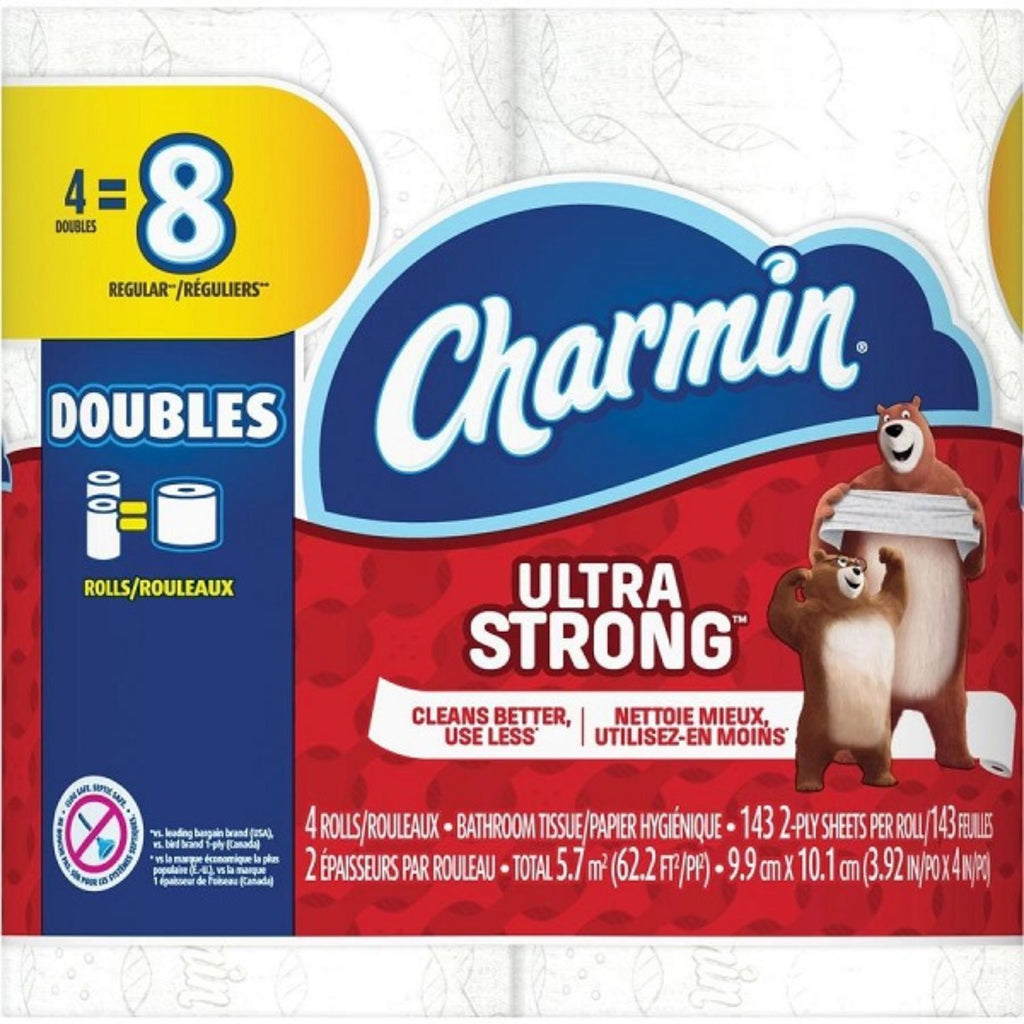 Charmin, Ultra Strong Mega Roll, 4 ct