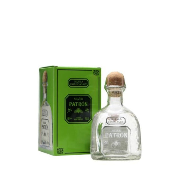 Patron Silver Tequila Mexican Tin 75 cl