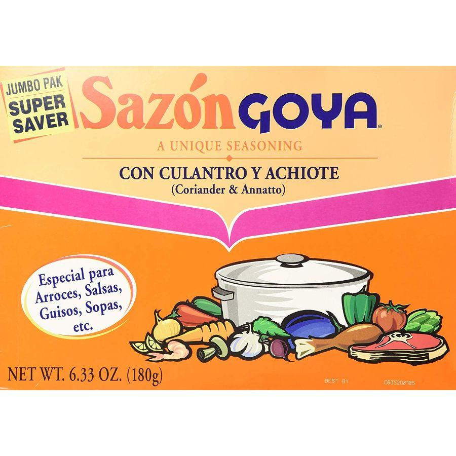 Goya Sazon Jumbo Pack, 36 x 6.3 oz