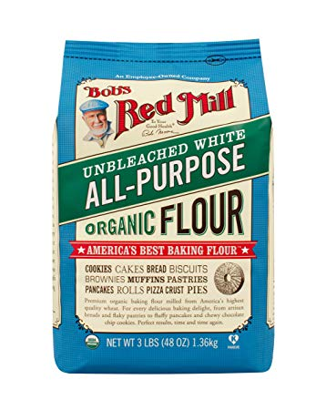 Bob's Red Mill Unbleached Flour Organic, 48 oz