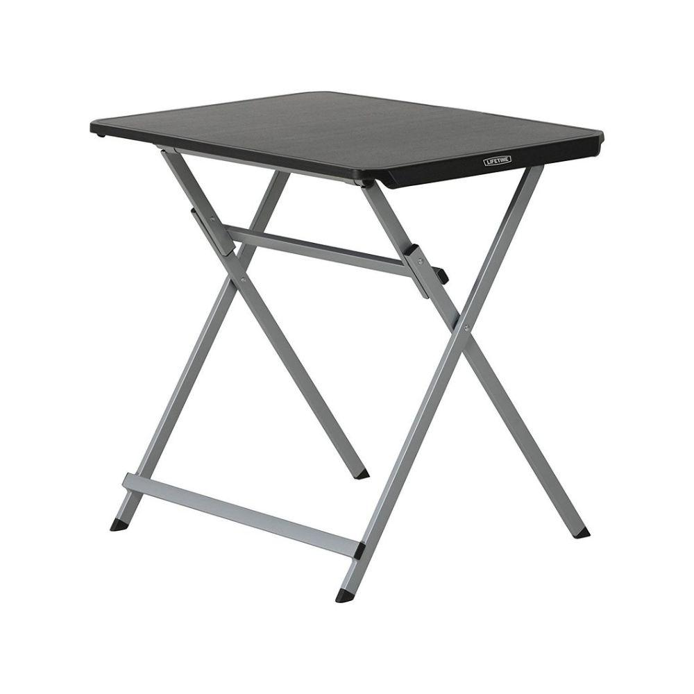 Lifetime, 30'' Personal Folding Table, Black