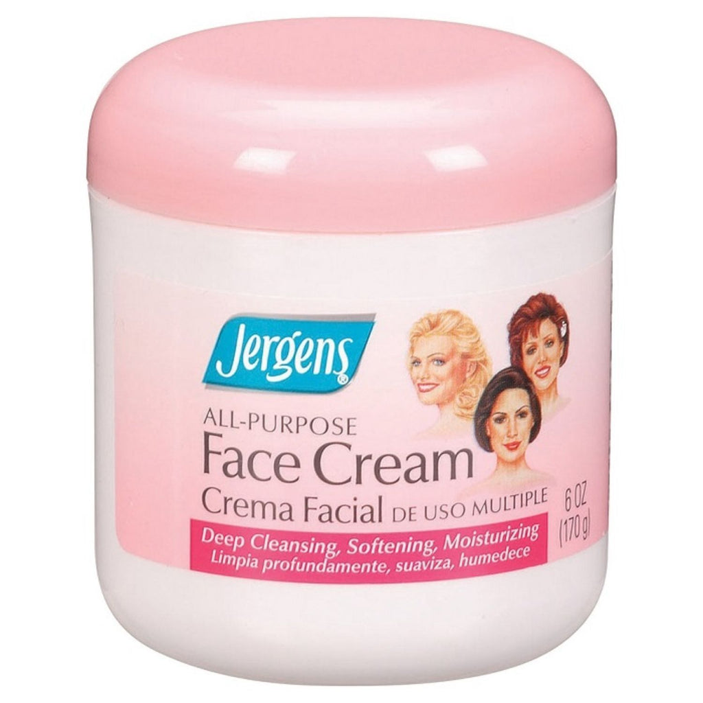 Jergens, All Purpose Face Cream, 6 oz