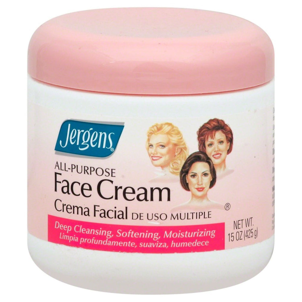 Jergens, All Purpose Face Cream, 15 oz