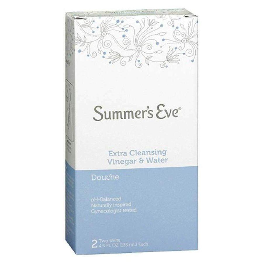 Summer's Eve Extra Cleansing Vinegar & Water Douche, 4.5 oz