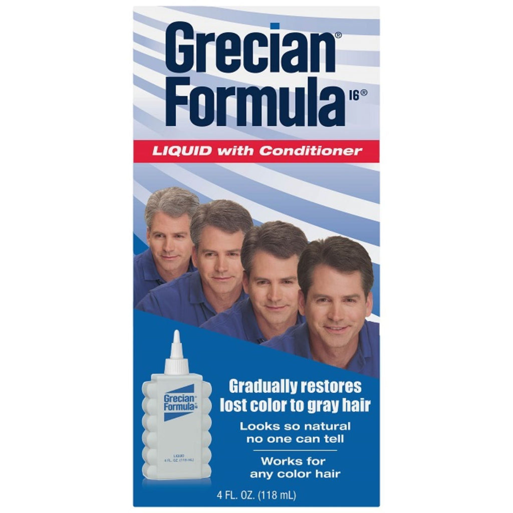 Grecian Formula, Liquid with Conditioner, 4 oz