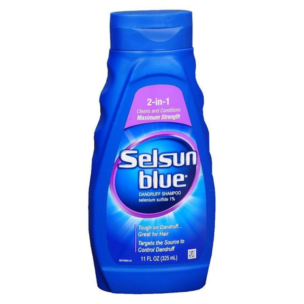 Selsun, Blue Shampoo 2-in-1 Treatment, 11 oz