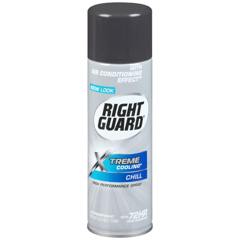 Right Guard Xtreme Cooling Chill Deodorant, 6 oz
