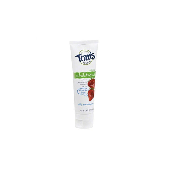 Tom's of Maine, Kid's Toothpaste Strawberry (Fluoride-Free), 4.2 oz