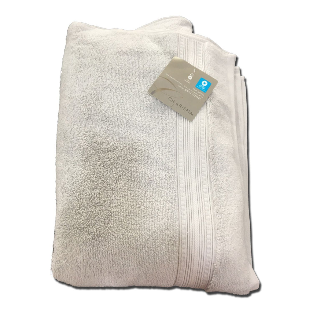 Charisma, Luxury Bath Towel 100% cotton, White