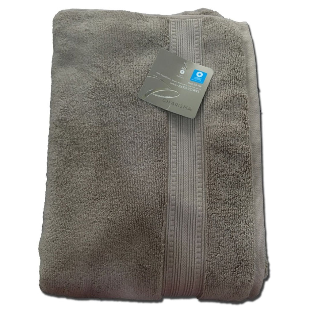 Charisma, Luxury Bath Towel 100% cotton, Brown