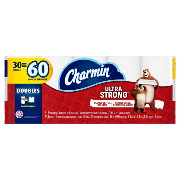 Charmin, Ultra Strong Bathroom Tissues 30 Roll