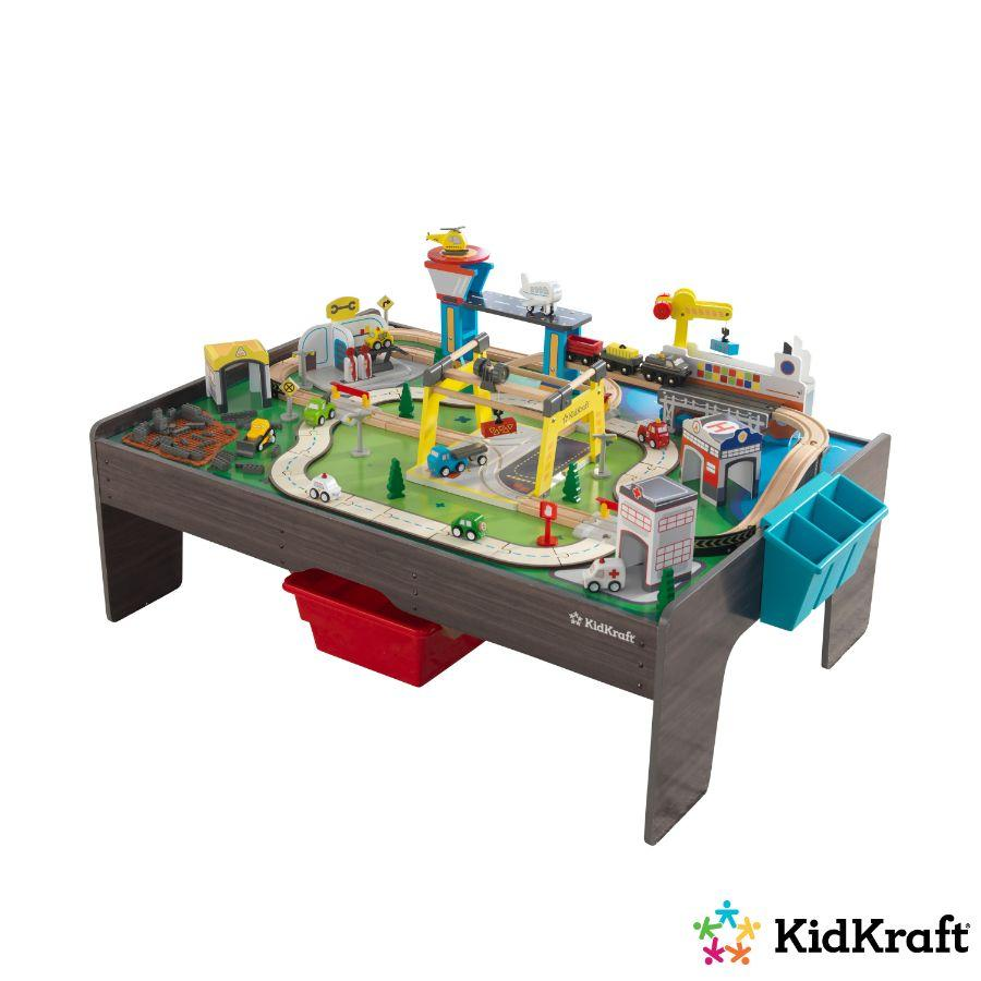 Kidkraft My Own City & Activity Table 50 ct
