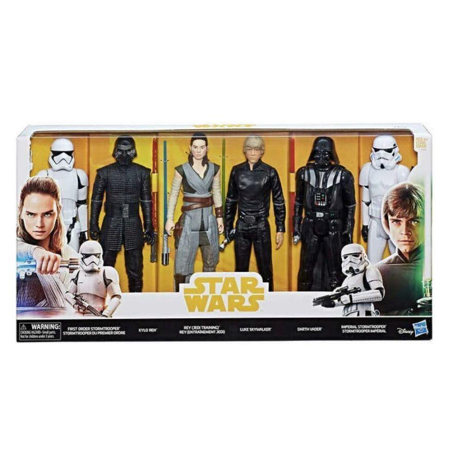 "Hasbro Disney Star Wars 12"" Epic Rivals 6-Pack Action Figures"